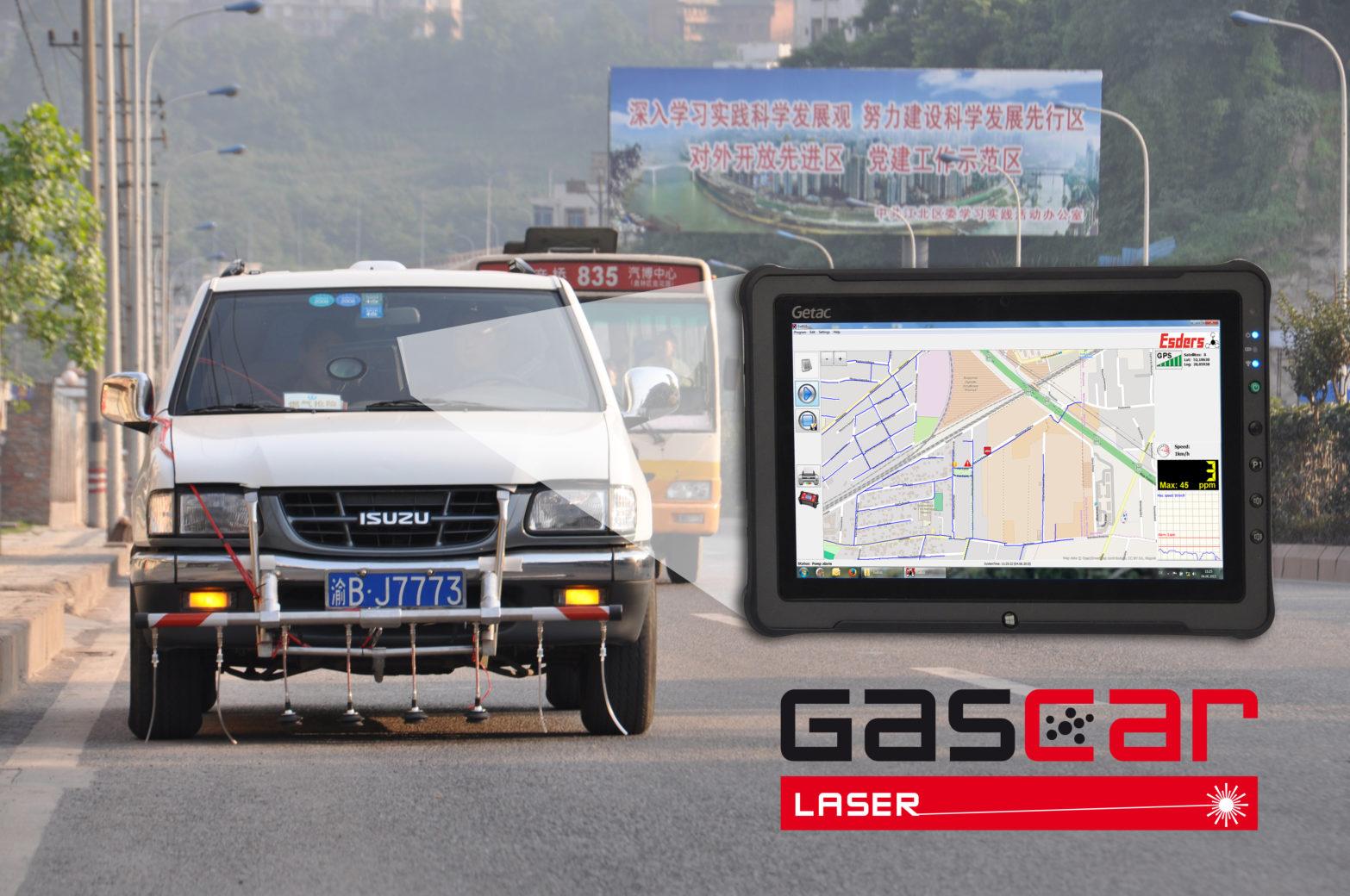 Gasdetectievoertuig