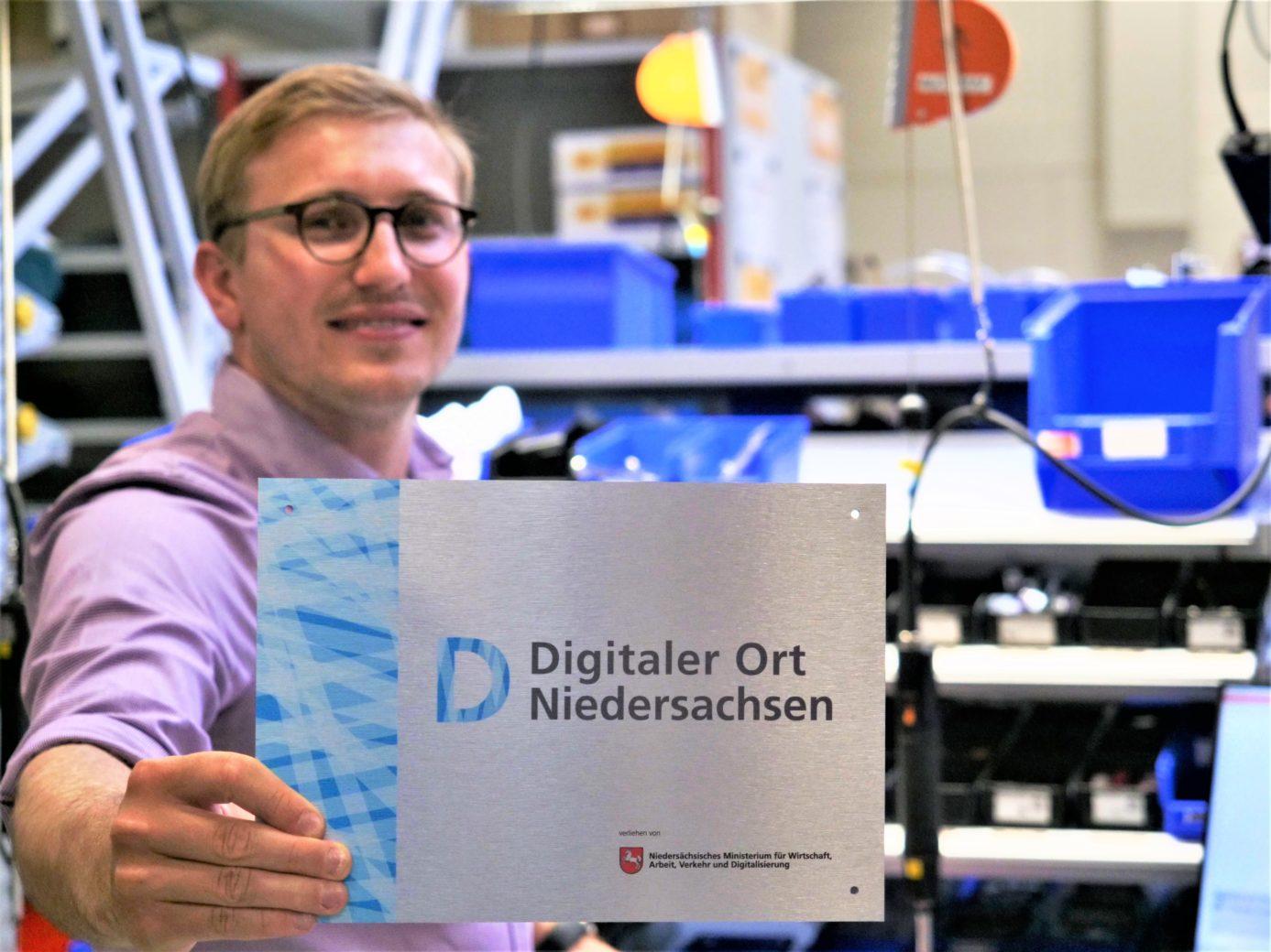 Onderscheiding 'Digitale Gemeente Nedersaksen'