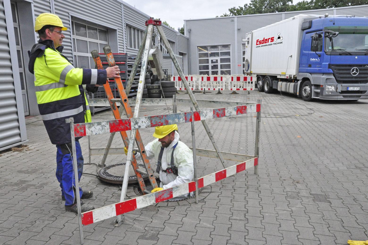 Esders GmbH breidt uit met Esders Pipeline Services en Esders Kanal-Sanierungs-Technik