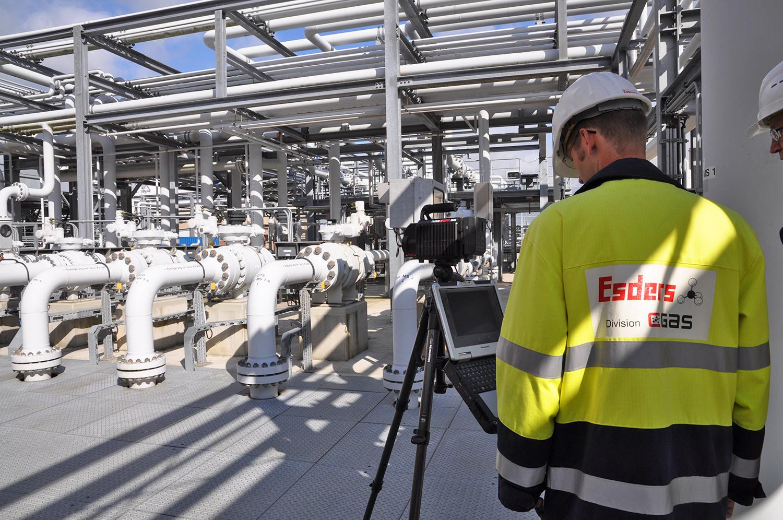 GasCam-Industrieanlage