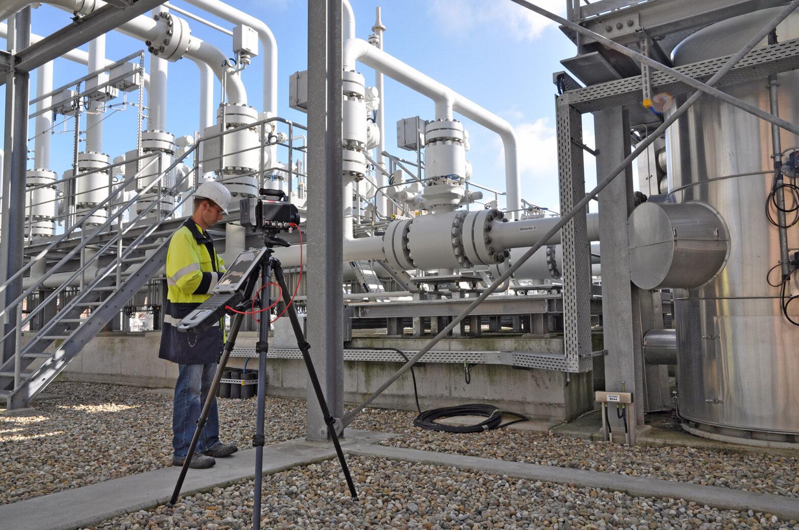 Industrieel gas – herstel van defecten en documentatie